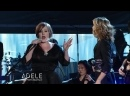 Adele with Jennifer Nettles - Chasing Pavements Live at Grammys 2009
