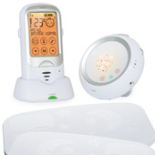 Цифровая радионяня Ramili  Baby RA300SP2 с двойным монитором дыхания