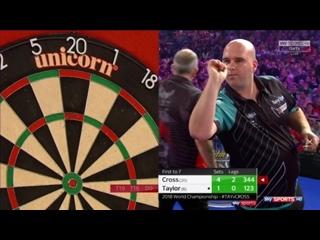 Phil Taylor vs Rob Cross (PDC World Darts Championship 2018 / Final)