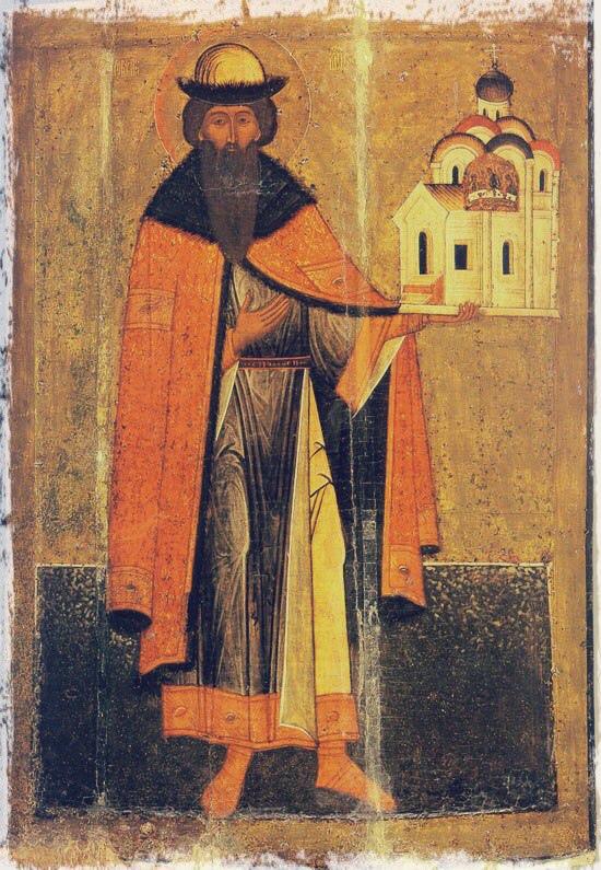 Князь Всеволод Мстиславич (канонизирован в 1192 году)