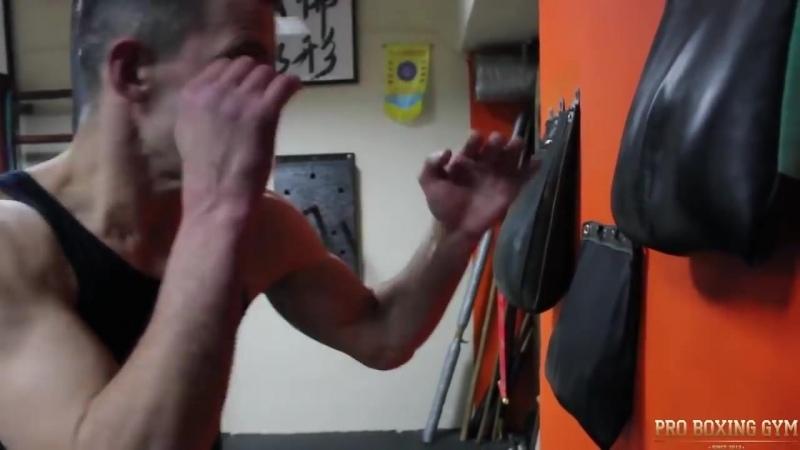 YaoCai WingChun Вин Чунь против Бокса Реальный мастер показывает технику КУНФУ