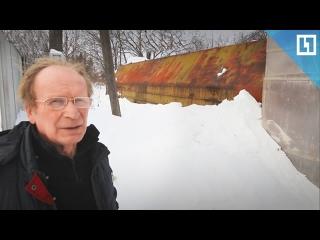 Пенсионер живет в кузове КАМАЗа