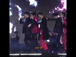 [FANCAM:PERF] 191126 GOT7 - Crash & Burn (Jinyoung focus) @ «2019 Asia Artist Awards».