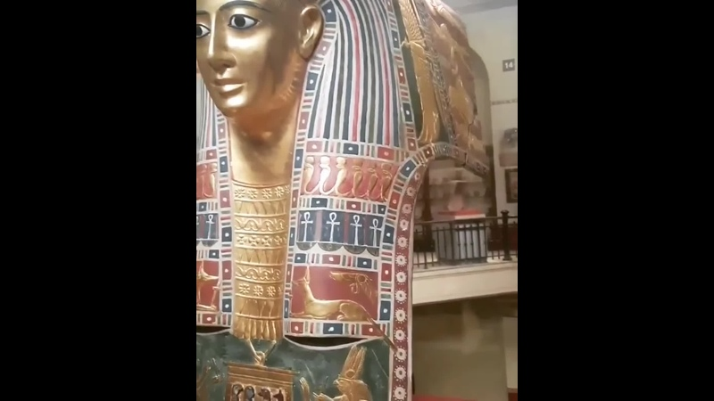 Male funerary mask gilded and painted cartonnage Ptolemaic Period
