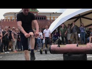 Книжный фестиваль на Красной площади в Москве: Александр Засс - Русский Самсон и его последователи. 2 июня 2019 г.