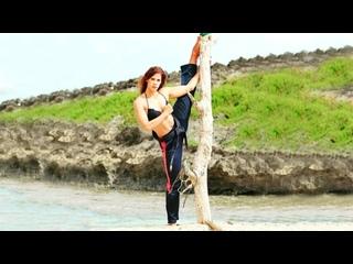 SLs - Amazing Stunt Best Martial Arts Kicks Girls
