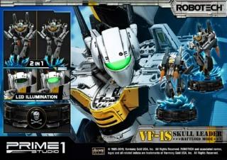 VF-1S Skull Leader from Robotech Prime 1 Studio