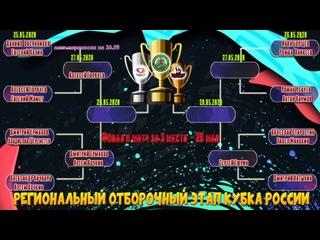 1/8 финала - РЕГИОНАЛЬНЫЙ ОТБОРОЧНЫЙ ЭТАП КУБКА РОССИИ