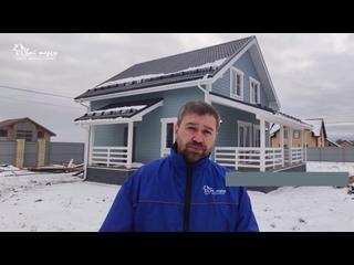 """Экскурсия и видео-обзор реализованного проекта дома """"Терем-21"""""""