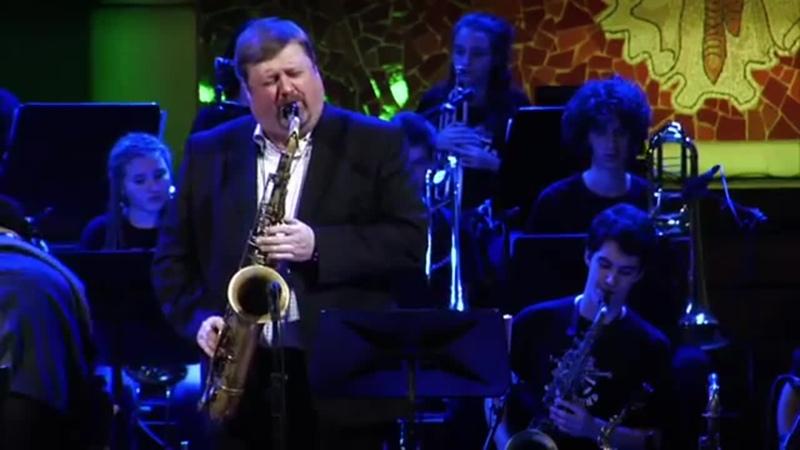 Wave SANT ANDREU JAZZ BAND -MAX SALGADO trompa- JOEL FRAHM saxo tenor JOAN CHAMO