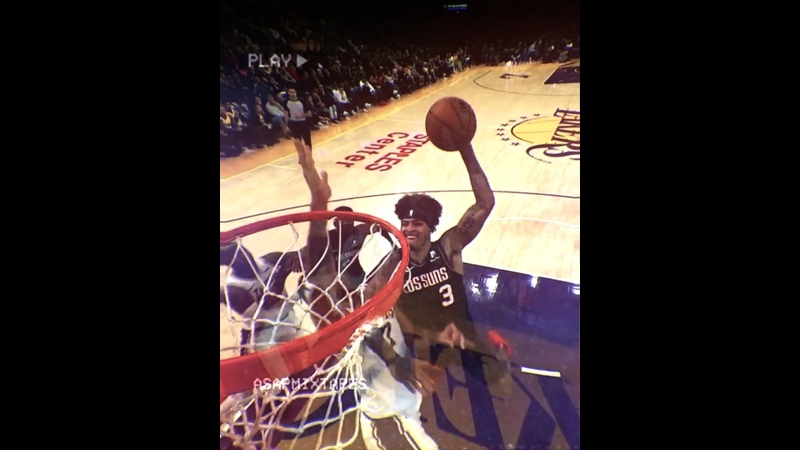 Kelly Oubre Jr POSTER DUNK on Javale McGee | asapmixtapes