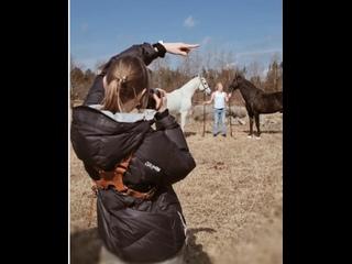 Первая конная съемка