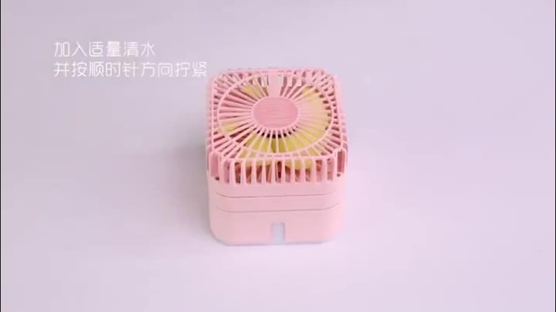 Два в одном мини вентиляторы увлажнитель воздуха распылитель рассеиватель лампы диффузор портативный увлажнитель воздуха тумана