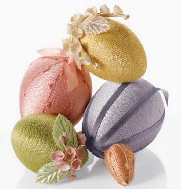 Декоративные пасхальные яйца: идеи оформления и мастер-классы