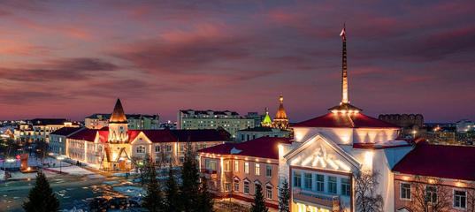 Нарьян-Мар с высоты — северный город у Белого моря