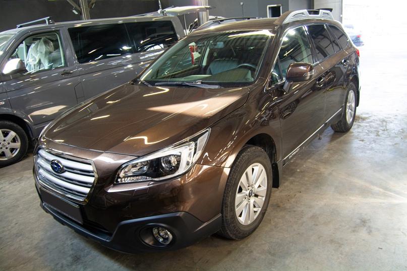 Комплексная шумоизоляция салона Subaru Outback., изображение №1