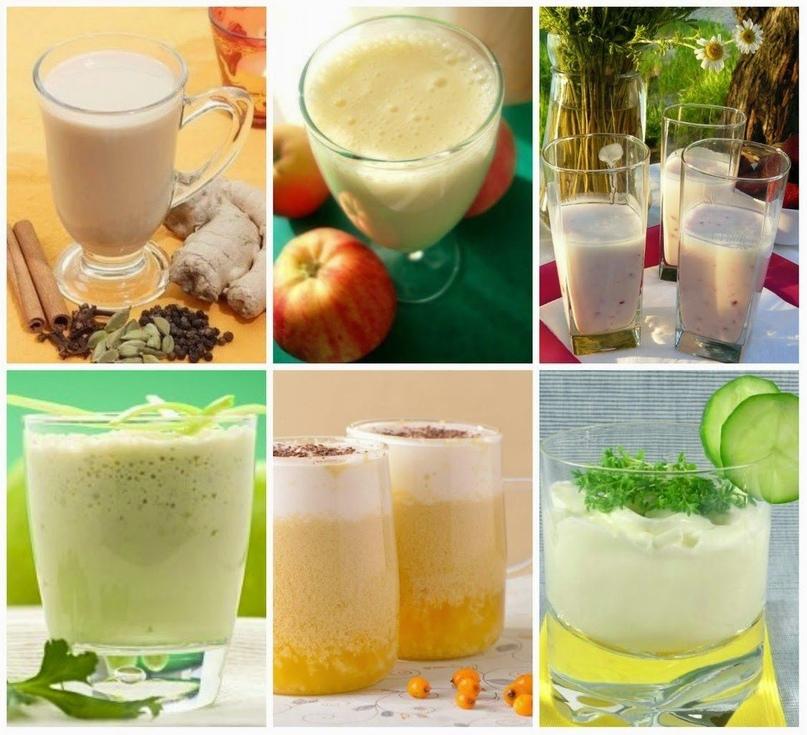 Лучшие кефирные коктейли для улучшения обмена веществ и укрепления иммунитета!🍌🍎🍐