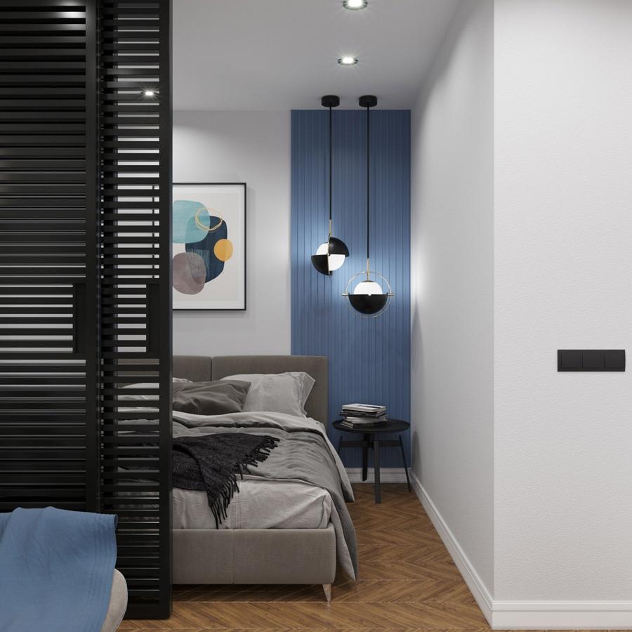 Проект квартиры 33 кв.