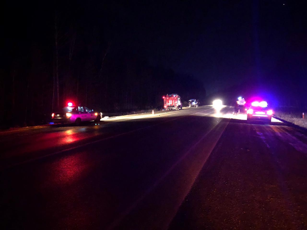 В ДТП на трассе погиб мужчина