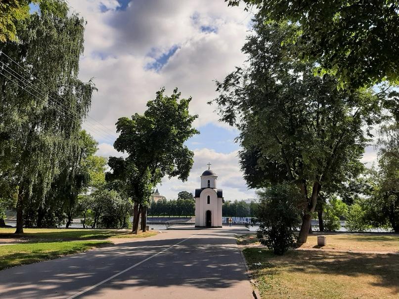 Псков. Часовня Святой Равноапостольной княгини Ольги