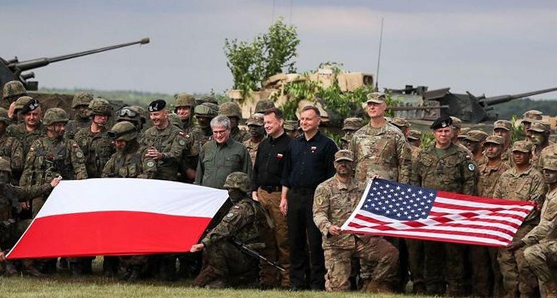 Армия США и армия Польши