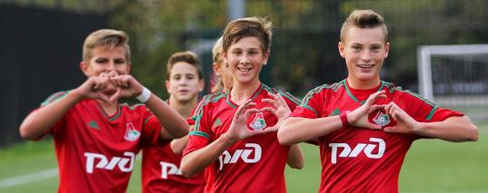 локомотив футбольный клуб москва академия