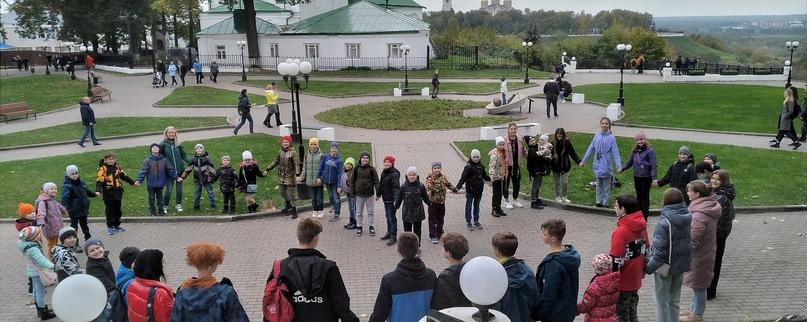"""Владимирские юные разведчики побывали в """"джунглях"""""""