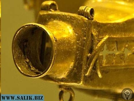 Обнаружен странный артефакт из коллекции золота в Боготе, Колумбия Я пока воздержусь от собственной версии по поводу этой странной «штуковины», которая в нашем современном мире будет