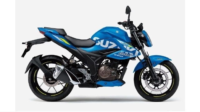 Suzuki Gixxer 250 2021 представили в Японии