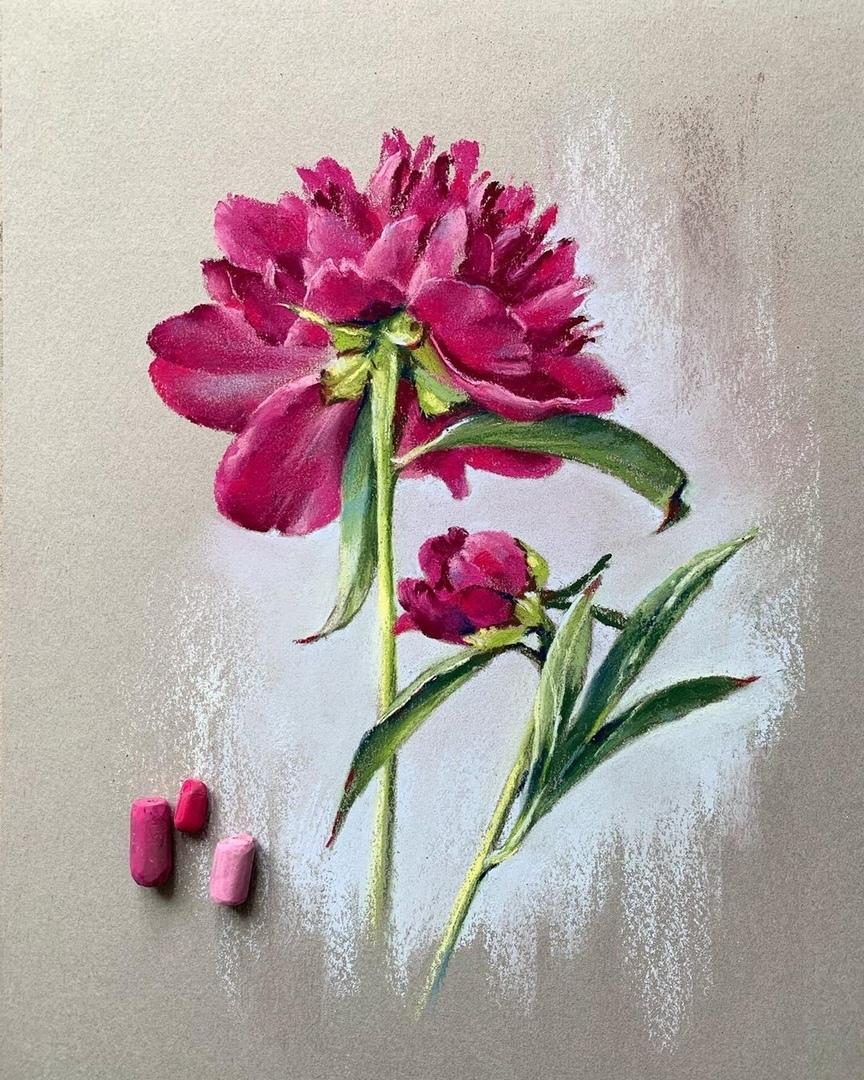 NZ71i u3JhI - Елена Дых - свежий взгляд на рисунки мелками