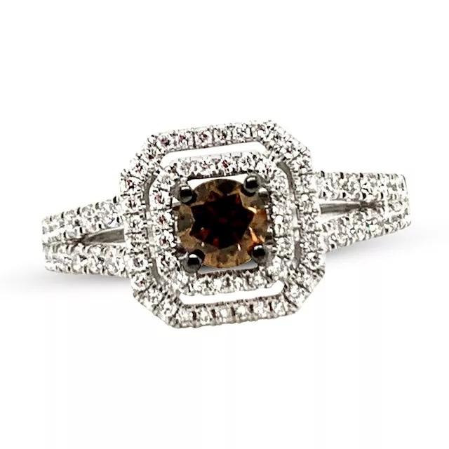 OOCOcDpOE8w - Шоколадные бриллианты в обручальных кольцах - звучит мечтательно
