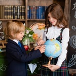 Школьный фотопроект 12.09 в зале Библиотека