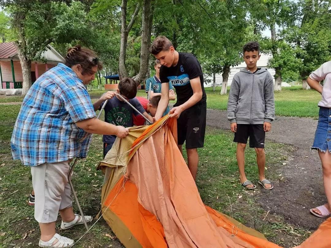 В лагере имени Аркадия Гайдара состоялся туристский квест
