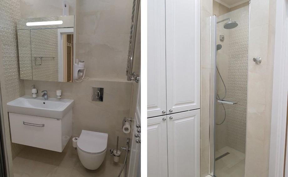 Интерьер квартиры-студии 26 м в Сочи.