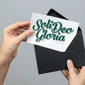 Soli Deo Gloria. Открытка