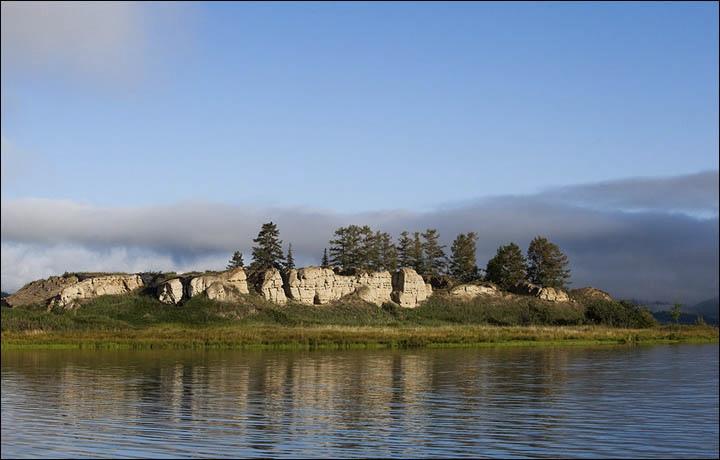 Тайна древней крепости Пор-Бажын, построенной на острове в сибирском озере, изображение №13