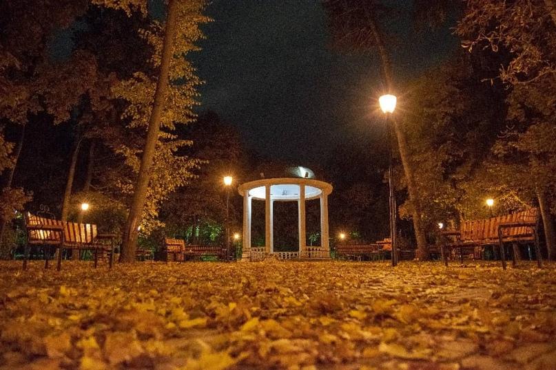 Ротонда в Центральном парке ????✨  Автор фото: ???? fotovideo_world #тула #тулаlife