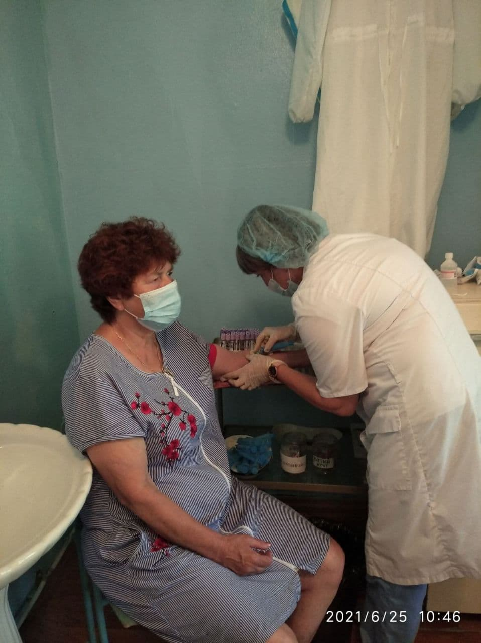 В посёлке Пригородный работал выездной мобильный комплекс Петровской районной больницы