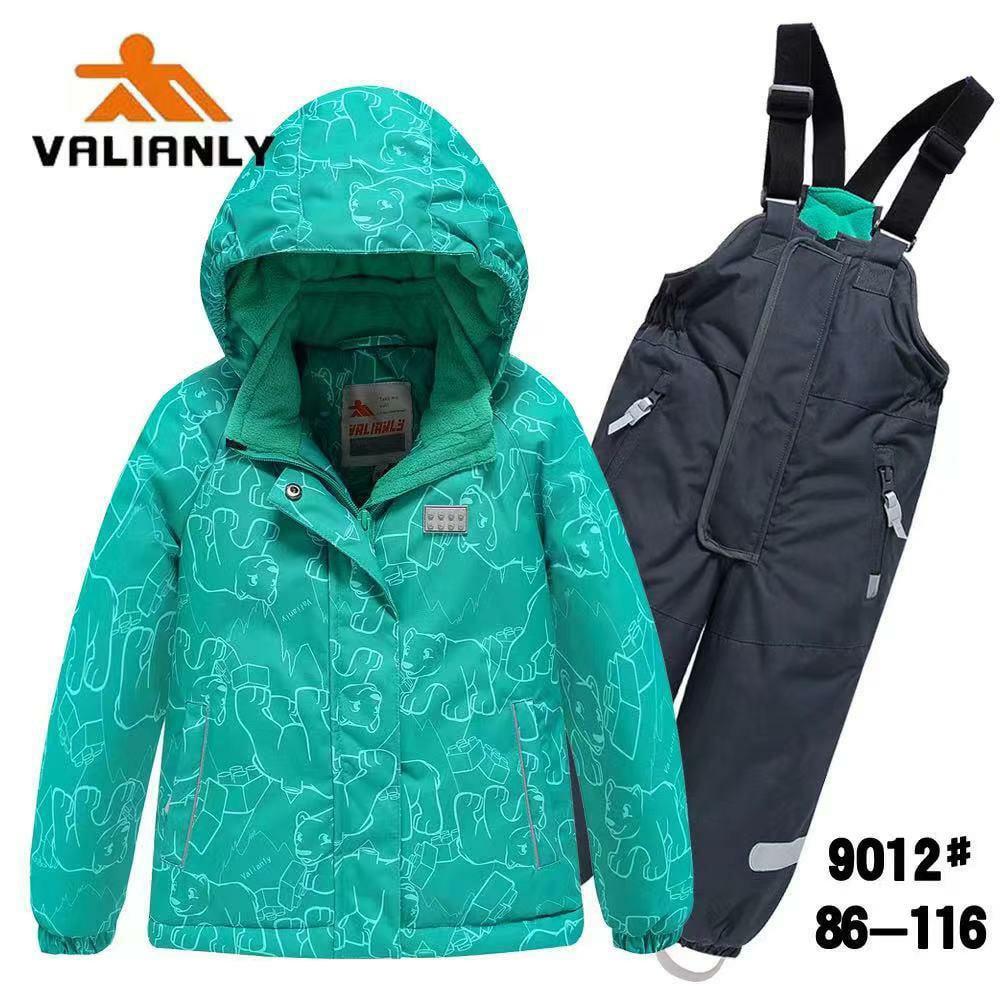 Зимний комплект Valianly 9012 бирюза