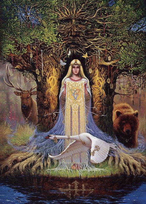 Берегиня. Матушка – сырая Богородица, изображение №1