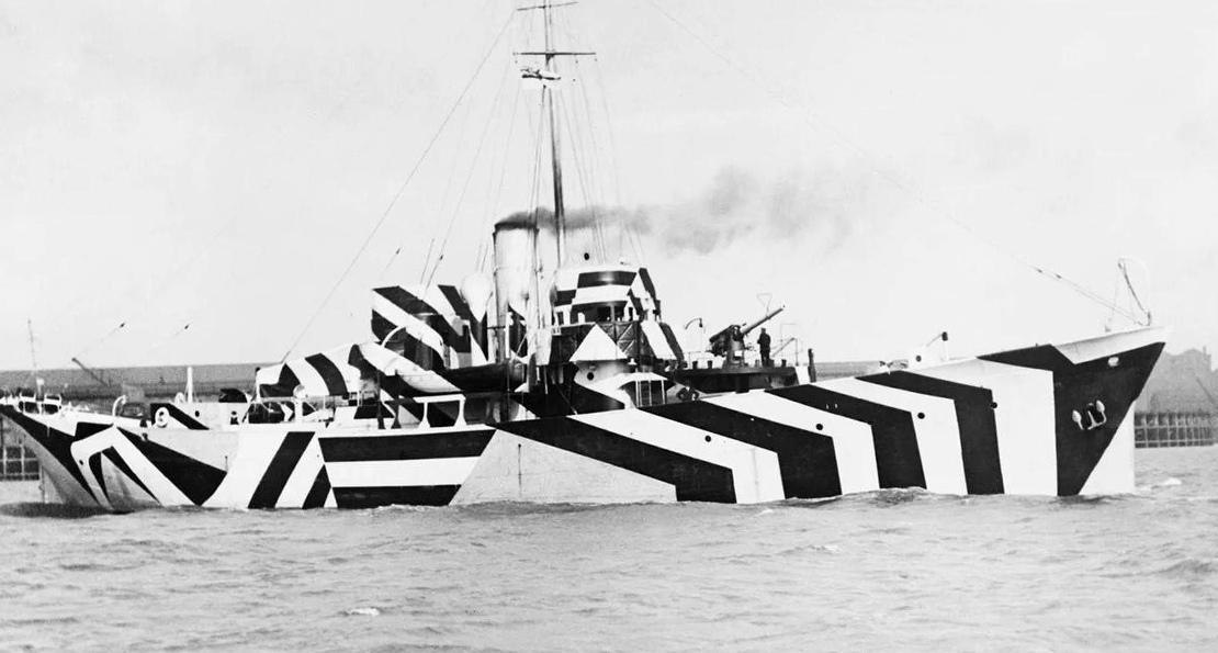 Маскировка флота в Британии