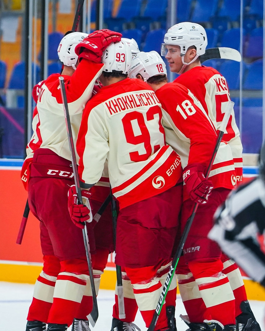 фото: ХК «Спартак»