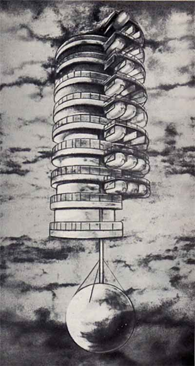 Загадка архитекторов Этьена Булле и Клода Леду идеи которому давали «сущности выходящие из тени», изображение №20