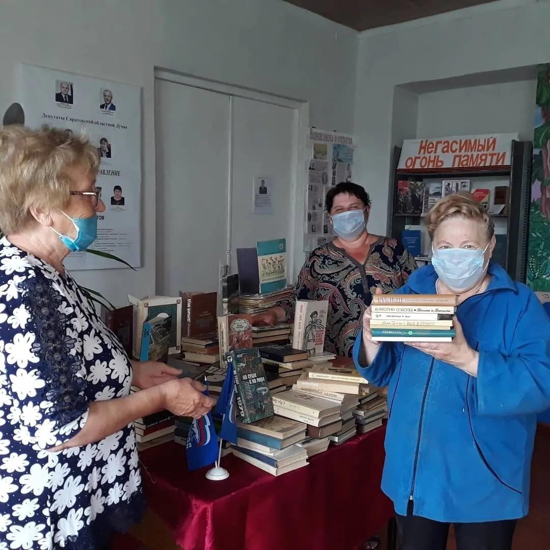Книжный фонд Первоберёзовской библиотеки пополнился художественной литературой