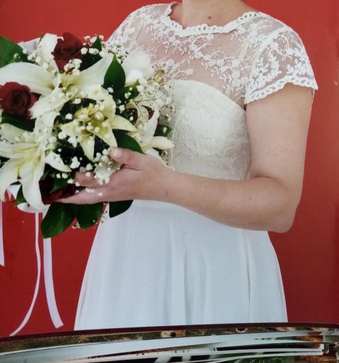 Купить свадебное платье. 46 размер. Сзади | Объявления Орска и Новотроицка №28921