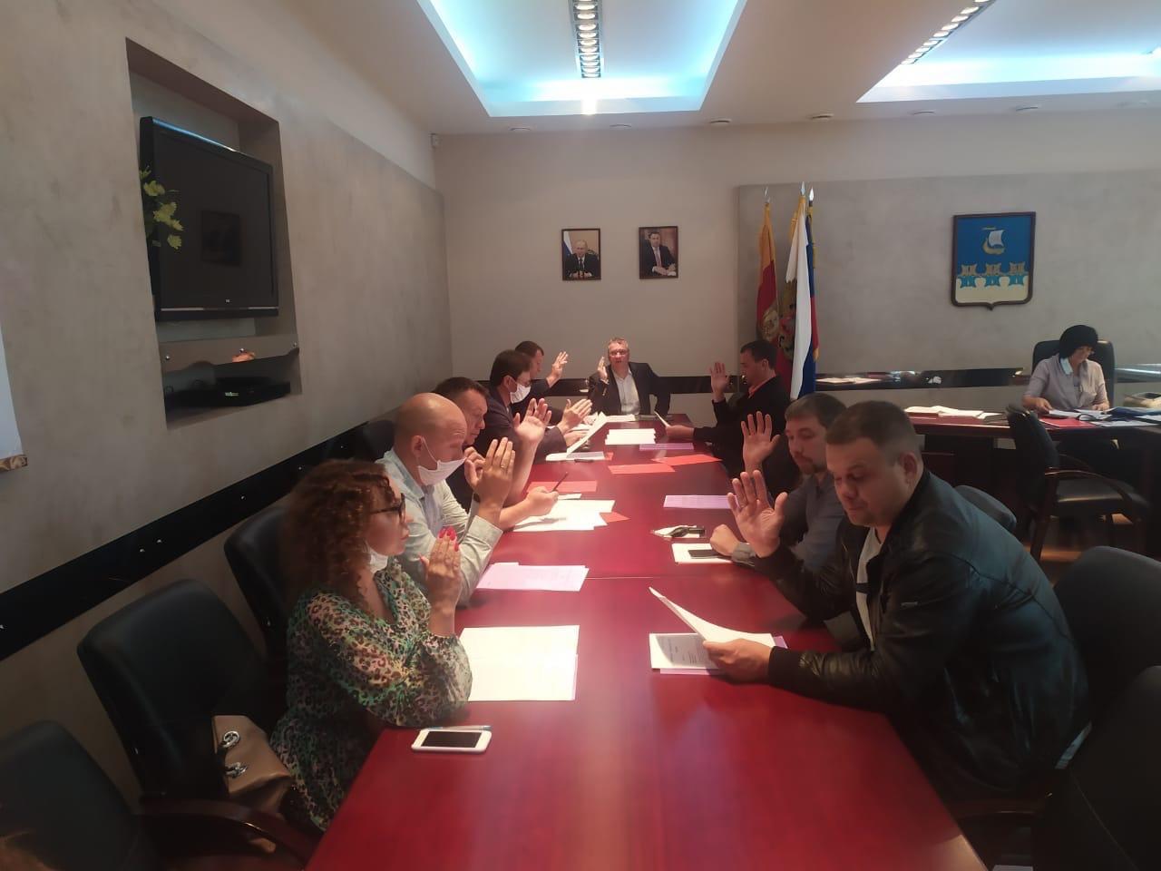 Повестка дня была совсем скромная - итоги заседания кимрской городской думы