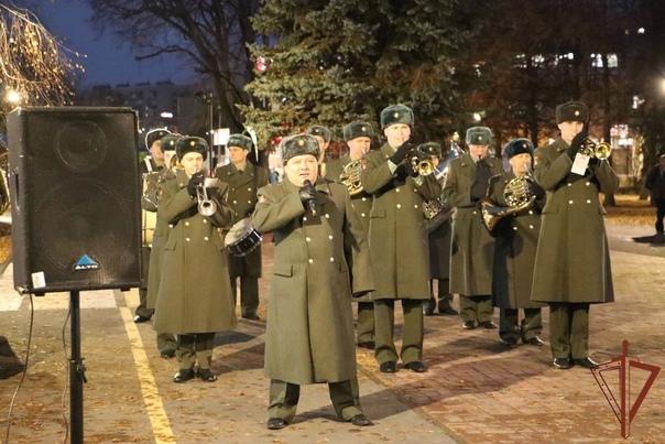 Три воинских коллектива озерского соединения Росгв...