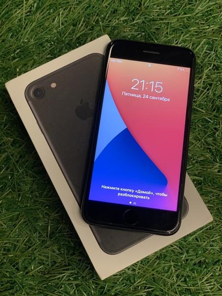 Продаю Apple IPhone 7 на 32гб в цвете black (чёрны...