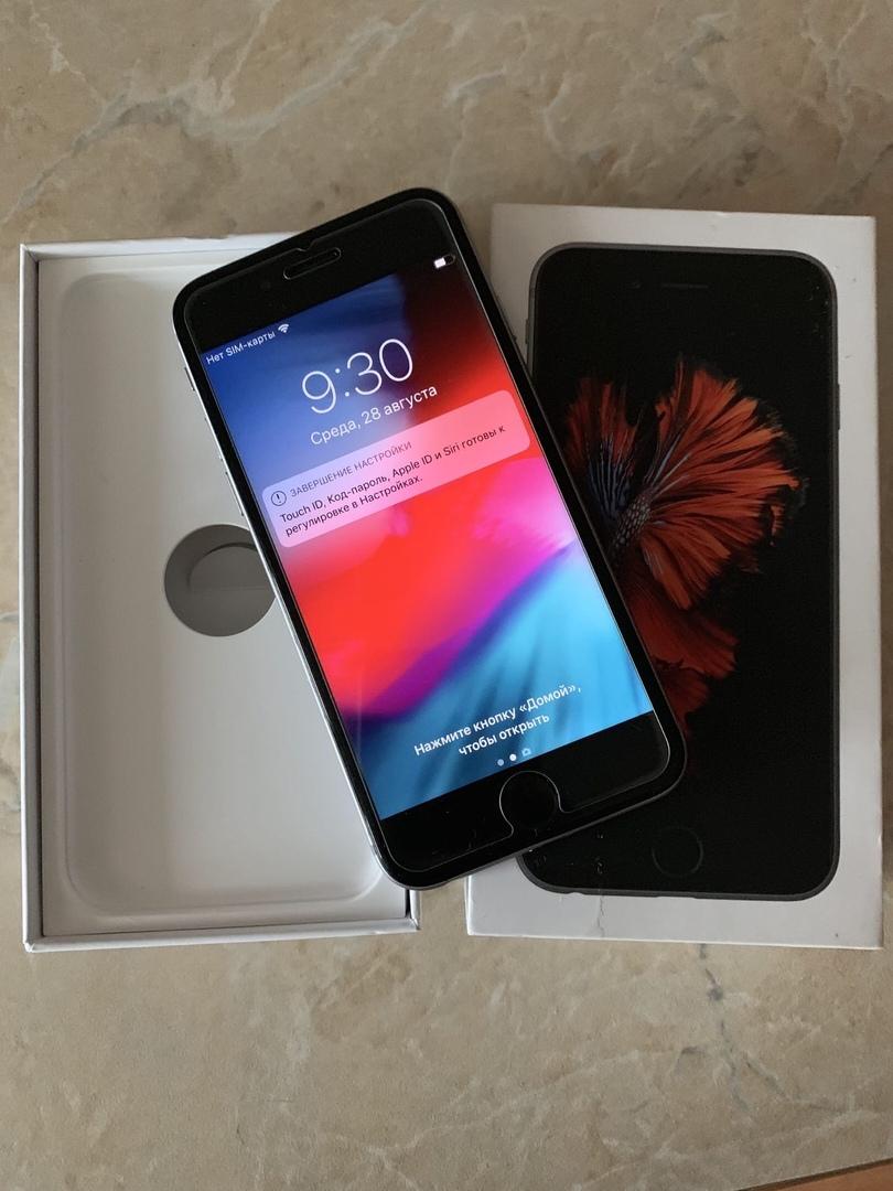 Продаю iPhone 6s 128Gb  Состояние на 5  Никогда   Объявления Орска и Новотроицка №2914
