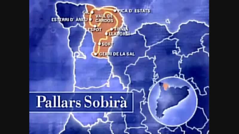 Catalunya des de l'aire 1999 Alt Pirineu i Aran Pallars Sobirà
